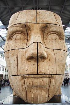 Head, Carved, Share, Unika Art Project