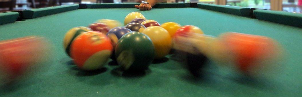 Billiards, Balls, Push, Koe, Objectives, Sport, Skill