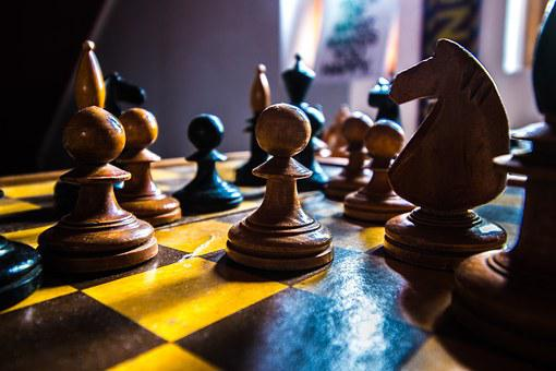 Chess, White, Board, Game, Strategy, Black, King, Play