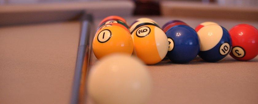 Pool Table, Billiard, Cue, Ball, Game, Table