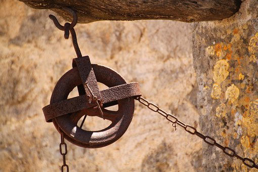 Thread, Chain Hoist, Wheel, Role, Chain, Alloy Wheel