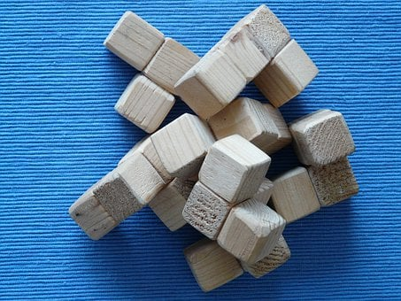Puzzle, Cube, Wood Block, Toys, Wooden Toys, Build