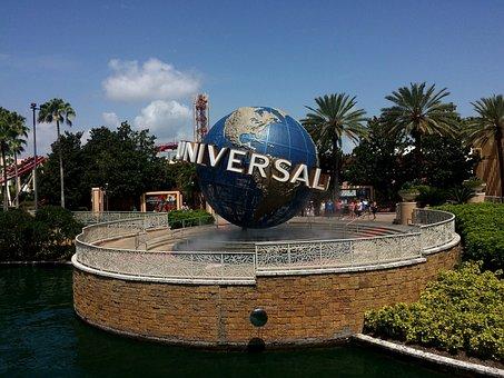 Universal Studios, Orlando, Florida, Universal, Globe