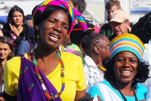 African, Girl, Woman, Friendly, Hair, Beautiful