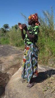 Woman, African, Africa, Mozambique, Culture, Scarf