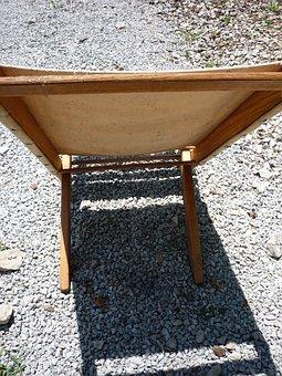 Folding Chair, Shadow, Wood Chair, Furniture