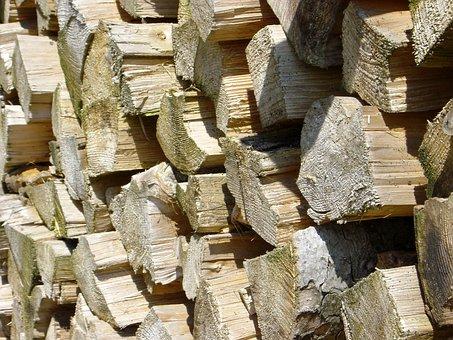 Wood, Beige, Wood Piece, Macro, Garden