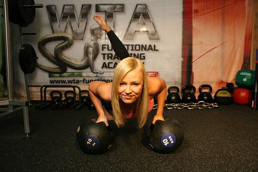 Mobility, Exercises, Woman, Workout