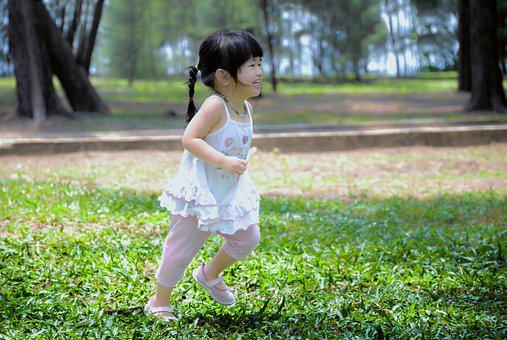 Child, Asian, Girl, Cute, Young, Happy, Children