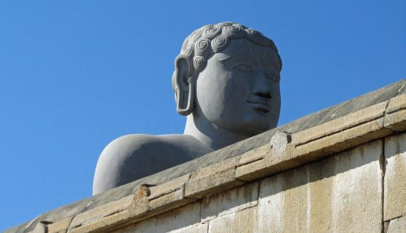 Shravanbelagola, India, Gomateshvara, Bahubali Statue