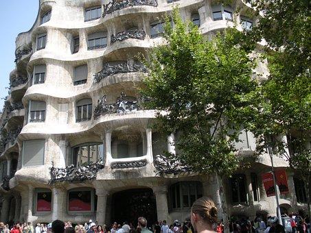 Barcelona, Gaudí, Architecture, Spain, La Padrera