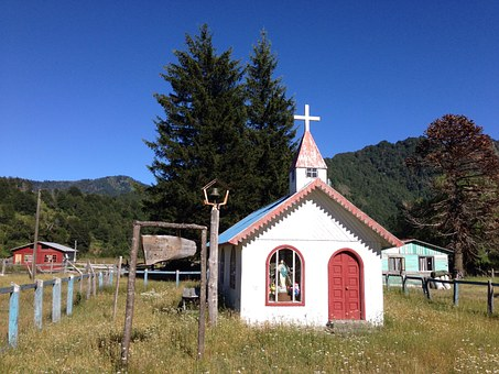 Chapel, Parque Nacional Conguillo, Chile