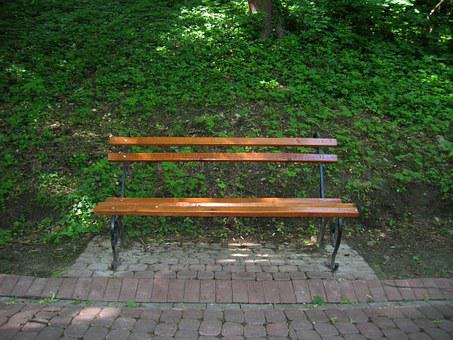 Bench, Park, Nature, Vacation, City Park