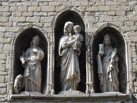 Figurines, Abbey, Vroom