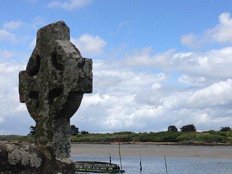 Brittany, Sea, Landscape, Locmariaquer