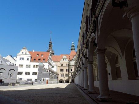 Dresden, Castle, Stallhof