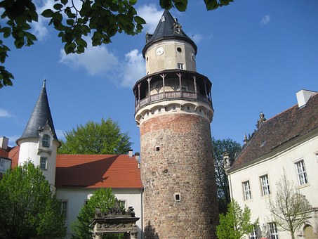 Pointed Castle, Castle, Tower, Architecture, Medieval