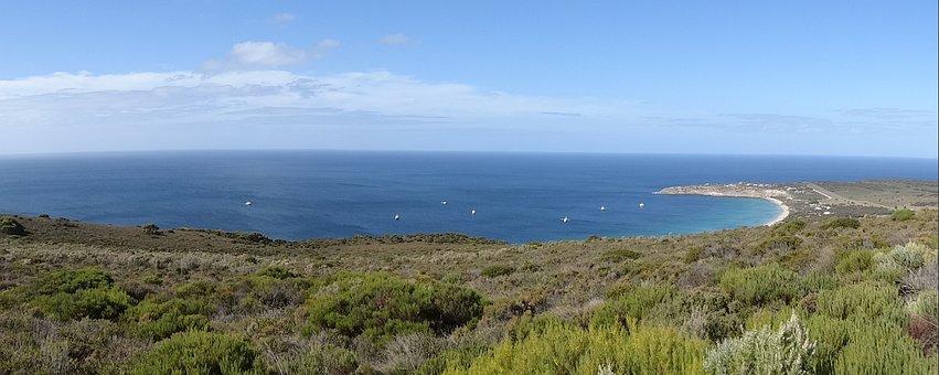 Thistle Island, Beach, Scenery, Coast, Bay
