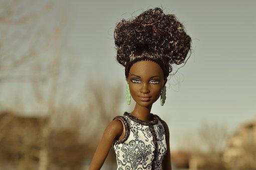 Doll, Black, African-american, African, Model, Barbie