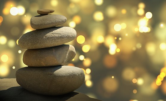 Feng Shui, Stones, Texture, Material, Graphic, Design