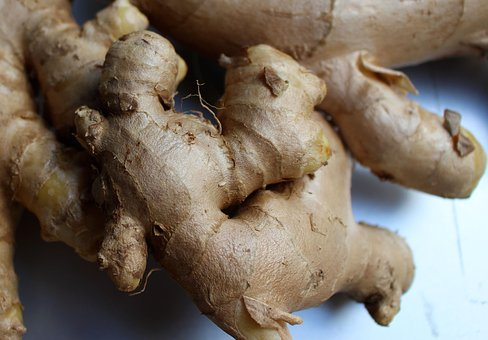 Root, Ginger, Spice, Food, Ingredient, Fresh, Healthy