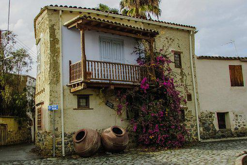 Old House, Traditional, Architecture, Village, Street