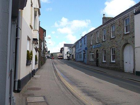 Lostwithiel, Cornwall, United Kingdom, Street