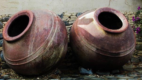 Jar, Pottery, Handmade, Traditional, Decoration