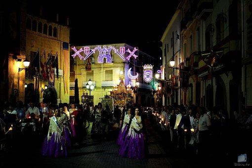 Procession, Virgin, Castalla