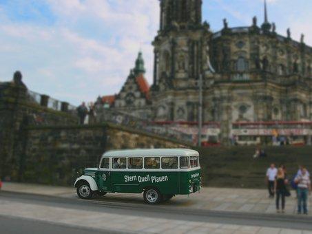 Dresden, Star Source, Beer, Bus