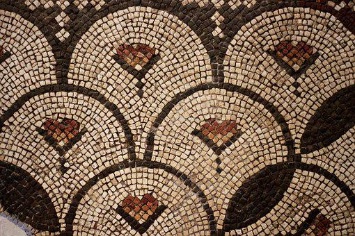 Mosaic, Museum, On, Historical Works, Hatay Museum