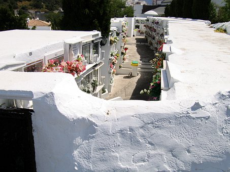 Cemetery, Graves, Spain, Old Cemetery, Casares