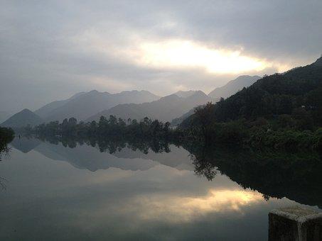 Lake, Reflection, Outer World