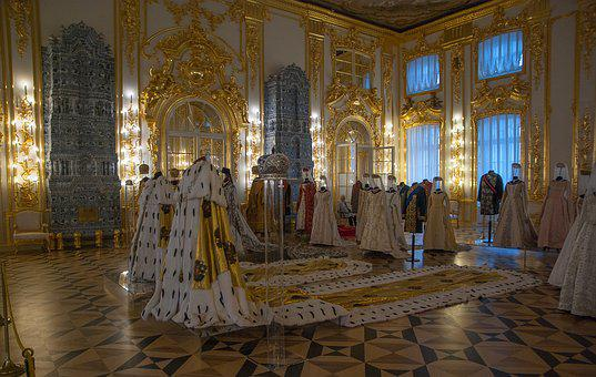 Russia, Pouchkine, Catherine Palace, Clothing