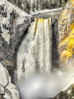 Alaska, Nature, Water, Landscape, Snow, Scenic, Park