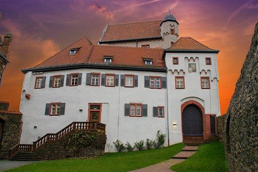 Alzenau, Lower Franconia, Bavaria, Germany, Castle