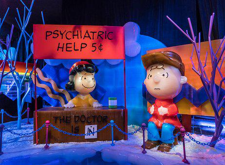 Ice Sculptures, Peanuts, Charlie Brown, Help Stand