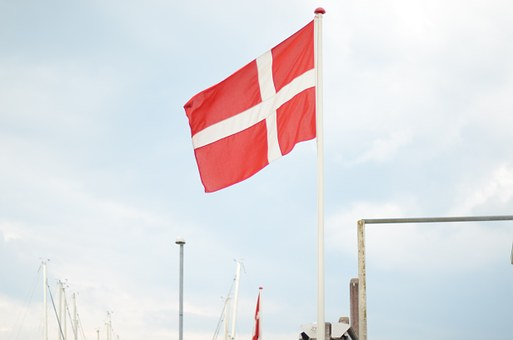 Danemark, Flag, Holiday, North Sea, Pier, Coast