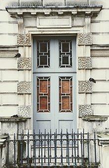 Home, House Entrance, Entrance Door, London, Front Door