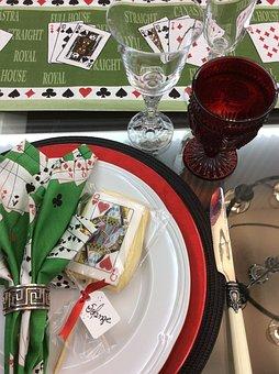 Table Set, Desk Tidy, Sousplat, Napkin, American Place