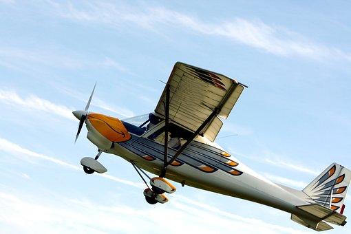 Propeller Plane, Aircraft, Double Decker, Propeller
