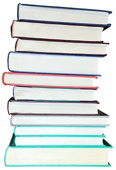 Books, Book Stack, Isolated, Exempted Books, Read