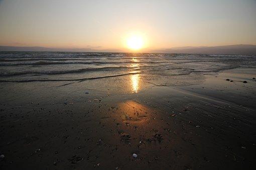 Sea, Sunset, Sunrise, Ocean, Sun, Water, Sky, Nature