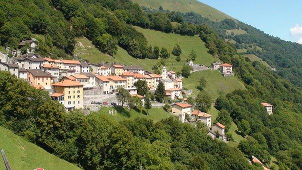Switzerland, Scudelatte, Mountain, Country, Landscape