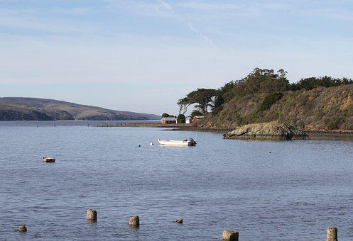Tomales Bay, Marin County, California, Tomales, North