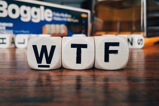 Wtf, Texting, Social Media, Acronym