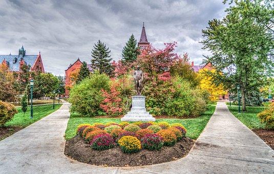 University Of Vermont, Architecture, Fall, Autumn