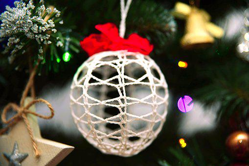 Bauble, Christmas Tree, Ornaments, Christmas Decoration