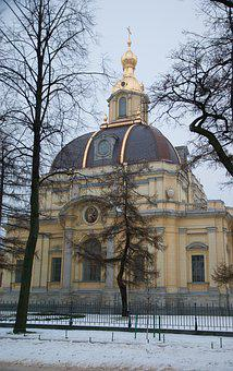 Saint Petersbourg, Peter And Paul Fortress, Church