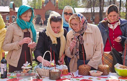 Orthodoxy, Monastery, Eatables Sanctification, City